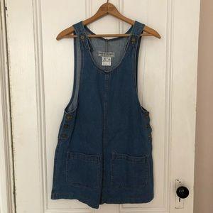 Dresses & Skirts - Vintage denim jumper dress